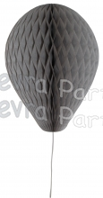 11 Inch Gray Honeycomb Balloon Decoration (12 pieces)