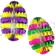 Honeycomb Easter Egg Striped 16 inch (12 pcs)