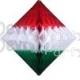 Diamond Christmas Decoration, 12 Inch (12 pcs)