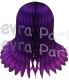 Purple Honeycomb Bell (12 Pieces)