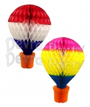 28 Inch Hot Air Balloon Decoration (6 pcs)
