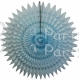 21 Inch Tissue Fan Light Blue (12 pcs)