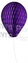 11 Inch Purple Honeycomb Balloon Decoration (12 pieces)