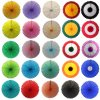 27 Inch Tissue Paper Deluxe Fan (12 pcs)