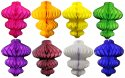 8 Inch Honeycomb Ornament Decoration (12 pcs)