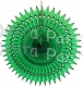 21 Inch Tissue Fan Dark Green (12 pcs)