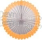 27 Inch Deluxe Fan Peach White (12 pcs)