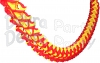 12 Foot Red and Yellow Oval Garland (12 pcs)
