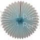 27 Inch Deluxe Fan Light Blue (12 pcs)