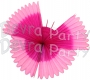 Hanging Butterfly Decoration Pink Cerise (6 pcs)