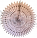 21 Inch Tissue Fan White (12 pcs)