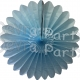 Fanburst Decoration Light Blue (12 pcs)