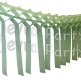 Mint Green Streamer Garland Decoration (12 pcs)