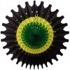 Jamaican 18 Inch Fan Decoration (12 pcs)