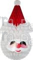 29 Inch Santa Face Decoration (6 pcs)