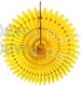 21 Inch Tissue Fan Yellow (12 pcs)