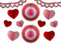 Valentine Day Decoration Kit, Small (12 Pieces)
