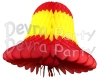 Red Yellow Red Bell Decoration (12 Pieces)