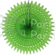 21 Inch Tissue Fan Lime Green (12 pcs)
