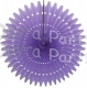 21 Inch Tissue Fan Lavender (12 pcs)