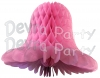 Dusty Rose Honeycomb Bell (12 Pieces)