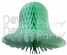Mint Green Honeycomb Bell (12 Pieces)
