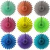27 Inch Tissue Paper Hanging Fanburst Decoration (12 pcs)