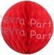 Red Tissue Paper Ball (12 pcs)