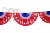 9 Foot Star Fan Bunting Garland (12 pcs)