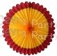 27 Inch Deluxe Fan Burgundy Gold (12 pcs)