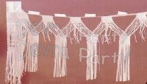 10 Foot Tissue Paper Fringe Garland (12 pcs)