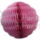 8 Inch Puff Ball Dusty Rose (12 pieces)