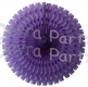 26 Inch Tissue Fan Lavender (12 pcs)