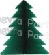 17 Inch Honeycomb Tissue Paper Green Tree (12 pcs)