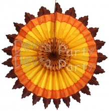 27 Inch Fall Zigzag Fan (12 pcs)