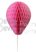 11 Inch Dusty Rose Honeycomb Balloon Decoration (12 pieces)