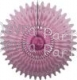 26 Inch Tissue Fan Dusty Rose (12 pcs)