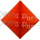 Orange Hanging Diamond Decoration (12 pcs)