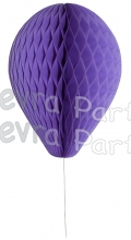 11 Inch Lavender Honeycomb Balloon Decoration (12 pieces)