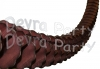 12 Foot Brown Oval Garland (12 pcs)