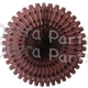26 Inch Tissue Fan Brown (12 pcs)