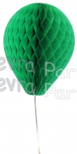 11 Inch Light Green Honeycomb Balloon Decoration (12 pieces)
