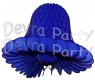 Dark Blue Honeycomb Bell (12 Pieces)