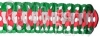 Full Tissue Garland Christmas Colored (12 pcs)