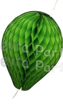 11 Inch Lime Green Paper Balloon Decoration (12 pieces)