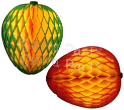 Honeycomb Mango Decoration, 14 Inch (12 pcs)