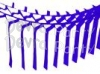 Dark Blue Streamer Garland Decoration (12 pcs)