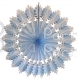 26 Inch Frosted Snowflake Decoration (12 pcs)
