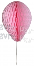 11 Inch Pink Honeycomb Balloon Decoration (12 pieces)