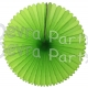 13 Inch Fan Lime Green Decorations (12 PCS)